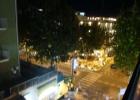 Фото туриста. Вид на улицу с балкона