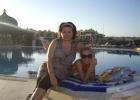 Фото туриста. у бассейна с подругой...
