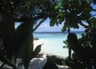 Фото туриста. Вид из бунгало на океан