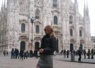 Фото туриста. Дуомо. Милан.