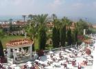 Фото туриста. вид с балкона на основной ресторан