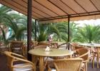 Фото туриста. Кафе во внутреннем дворе отеля