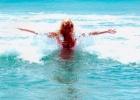 Фото туриста. средиземное море