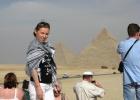 Фото туриста. пирамиды