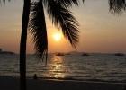 Фото туриста. Закат, вид с центральной набережной Паттайи