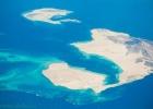 Фото туриста. Острова красного моря. Вид из самолета