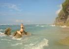 Фото туриста. На том самом каменистом пляже